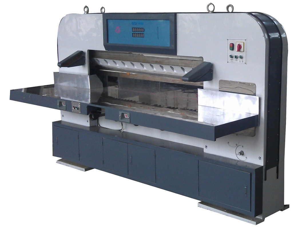 QZY1450 Digital Display Hydraulic Economical Paper Cutting Machine