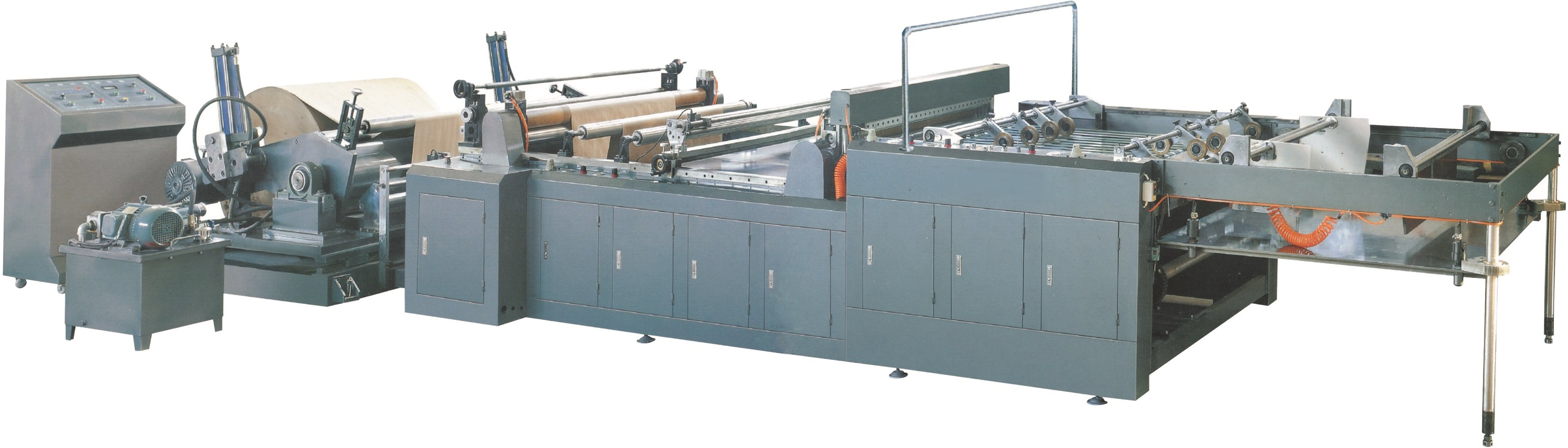 EHQ-A1100/A1300/A1600 Fully Automatic Cross Cutting Machine